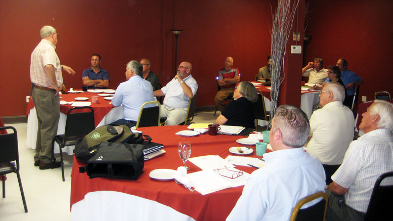 Adirondack Local Government Review Board meeting